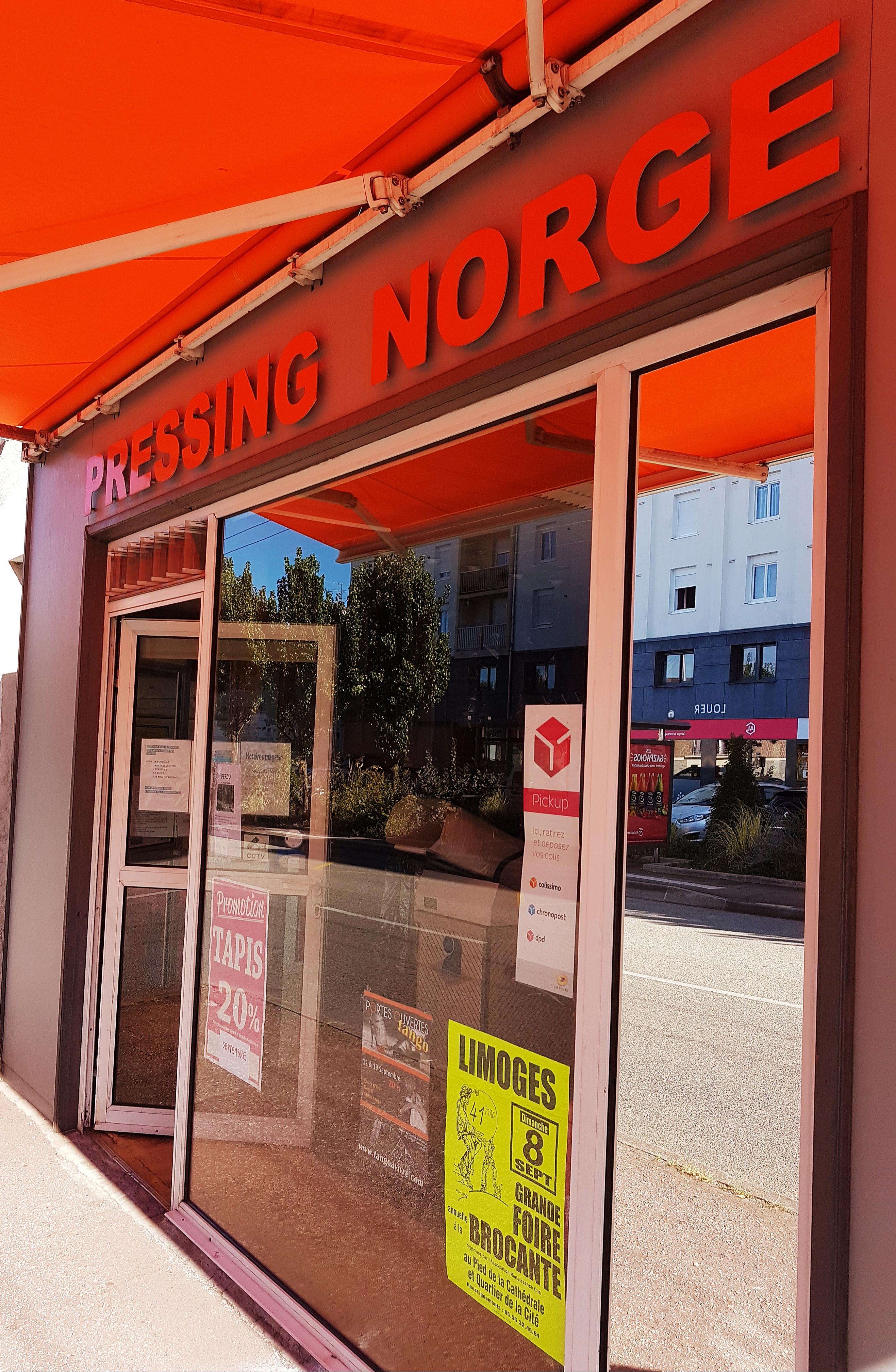 Devanture du magasin de PRESSING à Limoges